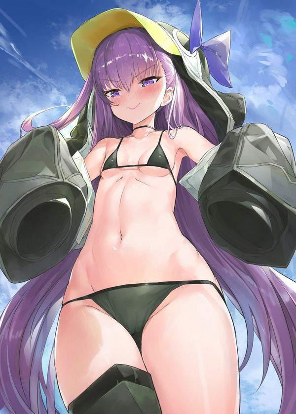 【Fate/GrandOrder】水着メルトリリスのエロ画像【47】