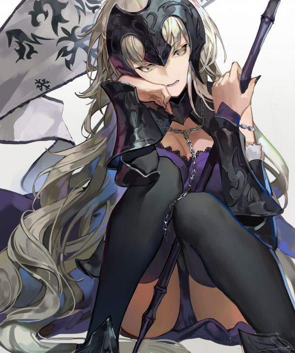 【Fate/GrandOrder】ジャンヌ・オルタ(jeanne d'arc alter)のエロ画像【44】