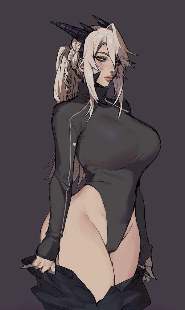 【Fate/GrandOrder】アルトリア・ペンドラゴン(ランサーオルタ)のエロ画像【25】