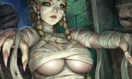 【ミイラ系女子】全裸に包帯な二次エロ画像