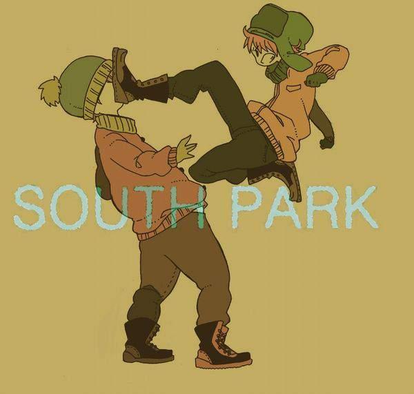 【カイル×スタン】腐女子目線で見たサウスパークの二次画像【カートマン×ケニー】【32】