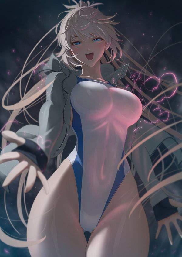 【Fate/GrandOrder】ジャンヌ・ダルク(水着)のエロ画像【14】