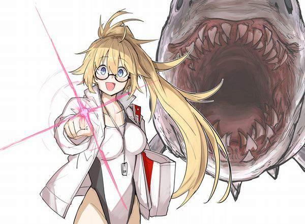 【Fate/GrandOrder】ジャンヌ・ダルク(水着)のエロ画像【50】