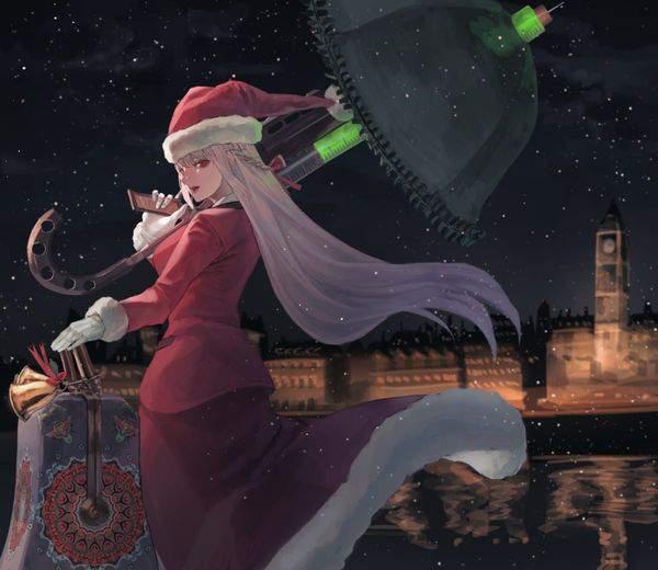 【Fate/GrandOrder】ナイチンゲール(サンタ)のエロ画像【12】