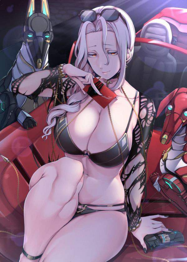 【Fate/GrandOrder】カーミラ(水着)のエロ画像【13】