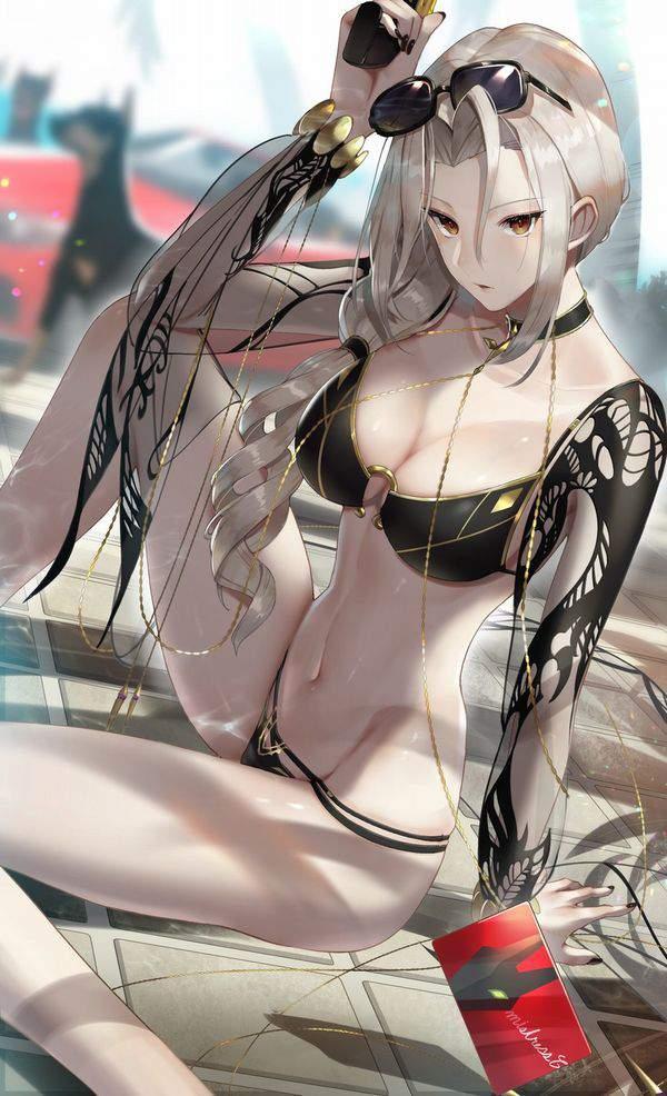 【Fate/GrandOrder】カーミラ(水着)のエロ画像【14】