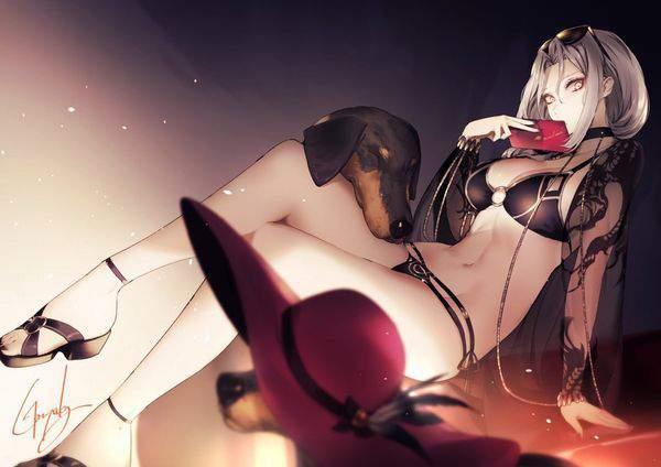 【Fate/GrandOrder】カーミラ(水着)のエロ画像【19】