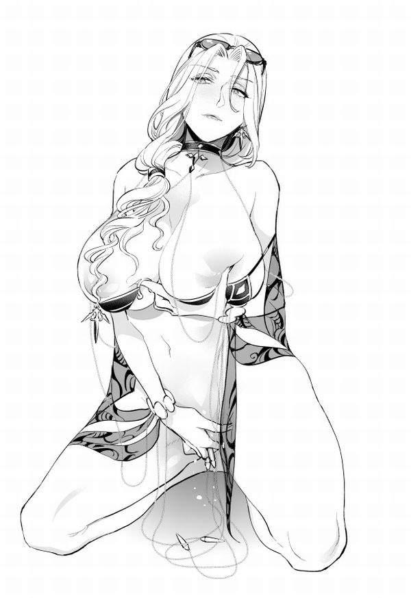 【Fate/GrandOrder】カーミラ(水着)のエロ画像【21】