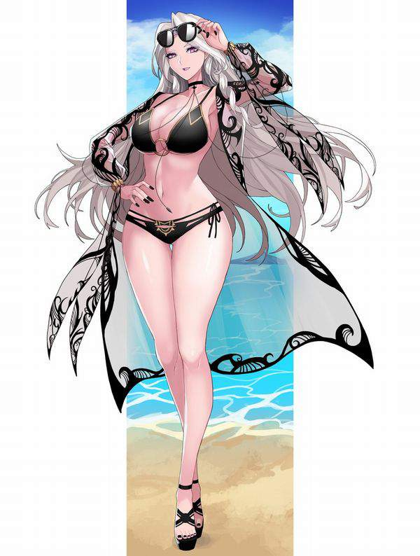 【Fate/GrandOrder】カーミラ(水着)のエロ画像【23】
