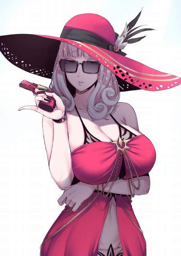 【Fate/GrandOrder】カーミラ(水着)のエロ画像【24】