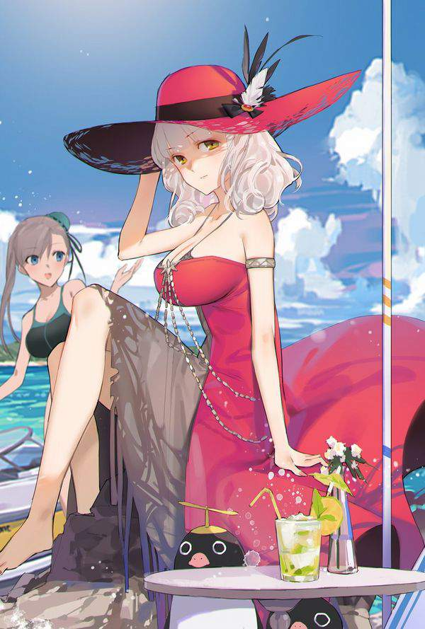【Fate/GrandOrder】カーミラ(水着)のエロ画像【41】