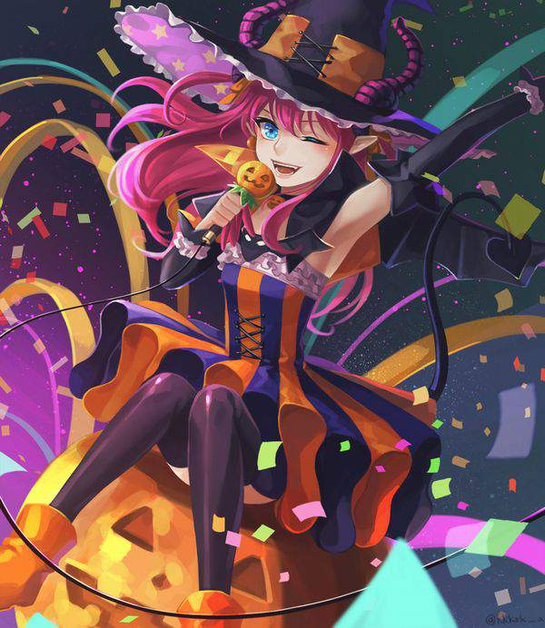 【Fate/GrandOrder】エリザベート・バートリー(ハロウィン)のエロ画像【3】