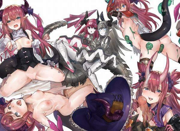 【Fate/GrandOrder】エリザベート・バートリー(ハロウィン)のエロ画像【5】
