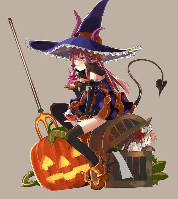 【Fate/GrandOrder】エリザベート・バートリー(ハロウィン)のエロ画像【7】