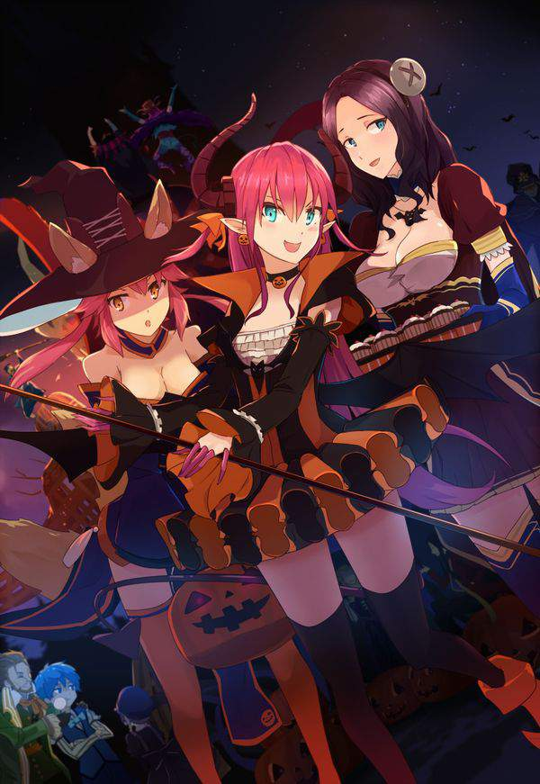 【Fate/GrandOrder】エリザベート・バートリー(ハロウィン)のエロ画像【8】
