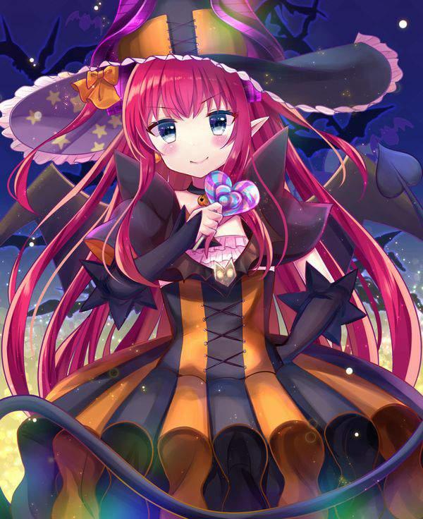 【Fate/GrandOrder】エリザベート・バートリー(ハロウィン)のエロ画像【15】