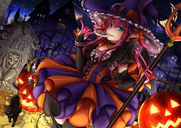 【Fate/GrandOrder】エリザベート・バートリー(ハロウィン)のエロ画像【23】