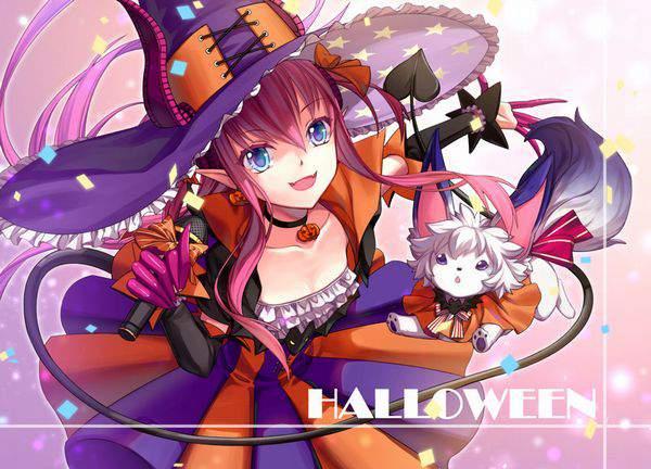 【Fate/GrandOrder】エリザベート・バートリー(ハロウィン)のエロ画像【46】