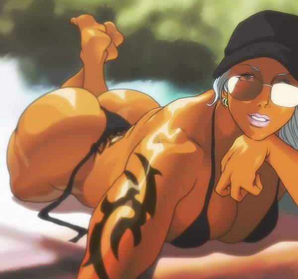 【バレット】タトゥーの入った褐色女子達の二次エロ画像【ムテバ】【15】