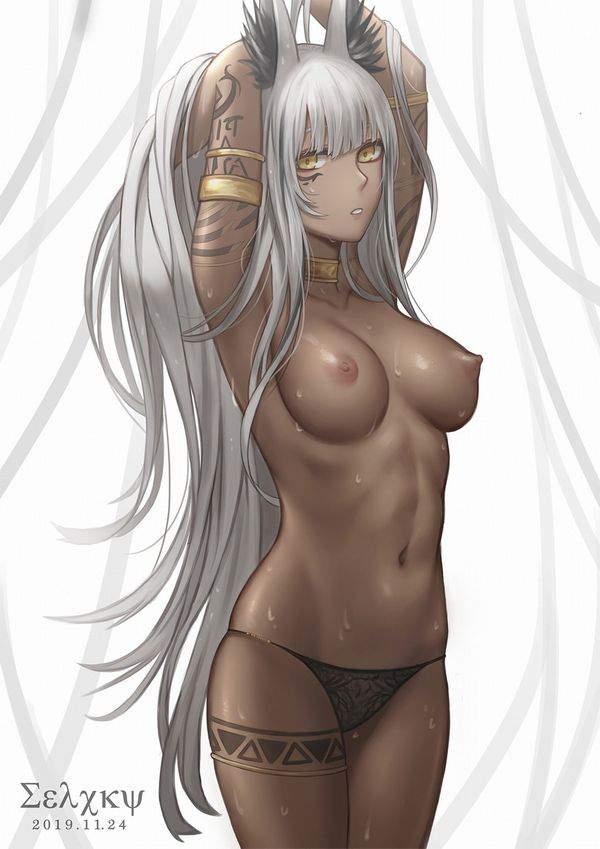 【バレット】タトゥーの入った褐色女子達の二次エロ画像【ムテバ】【24】