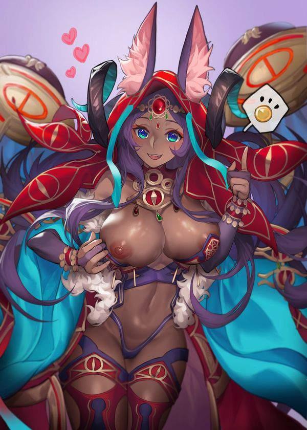 【Fate/GrandOrder】ミドラーシュのキャスター(シバの女王)のエロ画像【2】