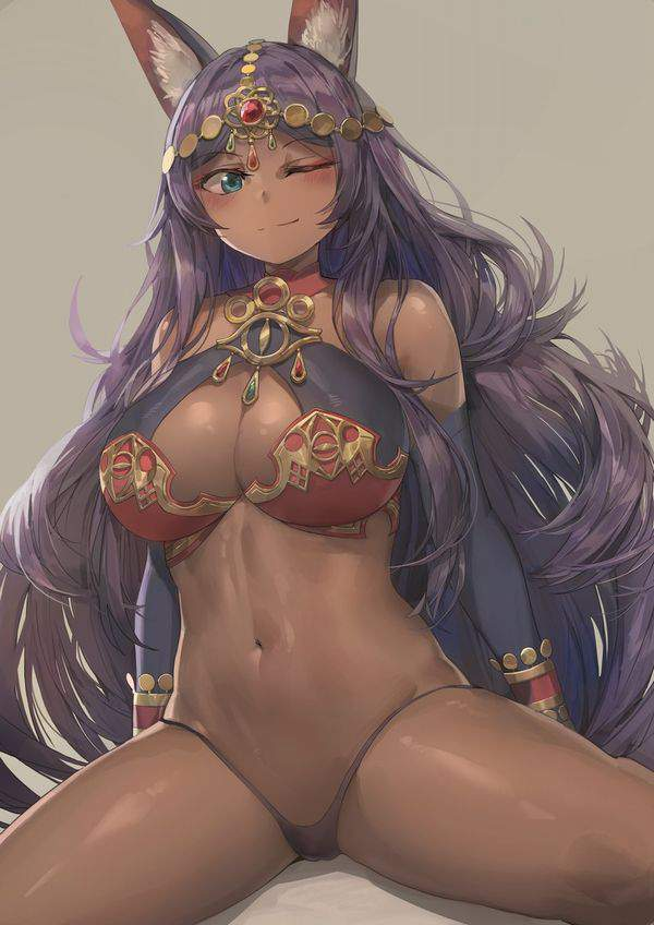 【Fate/GrandOrder】ミドラーシュのキャスター(シバの女王)のエロ画像【21】