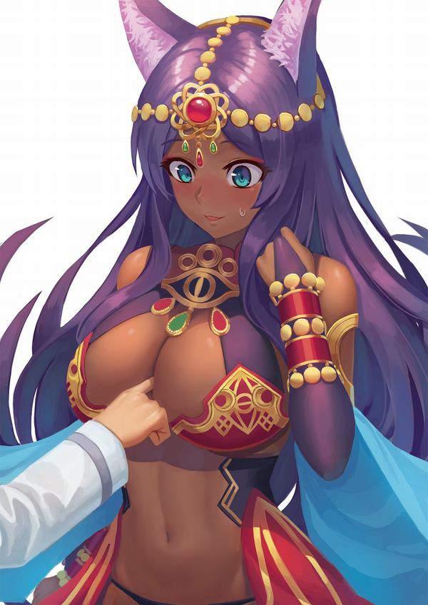 【Fate/GrandOrder】ミドラーシュのキャスター(シバの女王)のエロ画像【46】