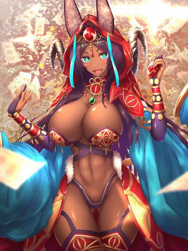【Fate/GrandOrder】ミドラーシュのキャスター(シバの女王)のエロ画像【47】