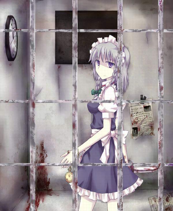 【エッチな拷問されそう】牢獄に監禁されてる女子達の二次エロ画像【17】