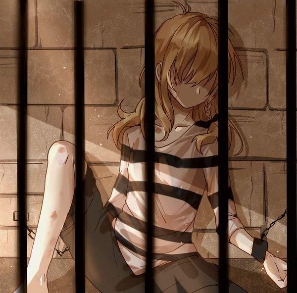 【エッチな拷問されそう】牢獄に監禁されてる女子達の二次エロ画像【33】