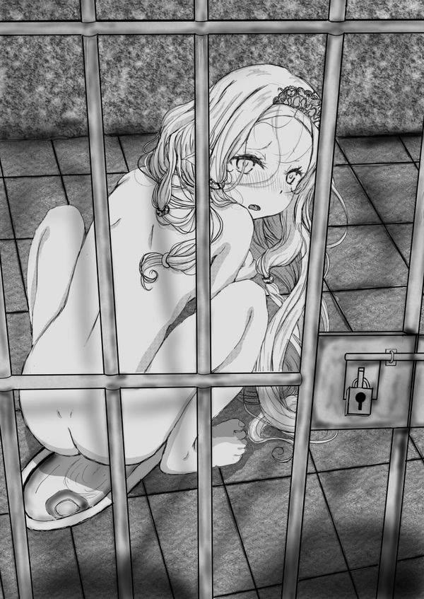 【エッチな拷問されそう】牢獄に監禁されてる女子達の二次エロ画像【40】