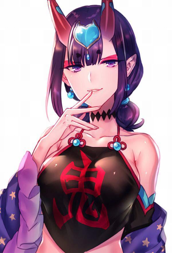 【Fate/GrandOrder】酒呑童子(キャスター)のエロ画像【16】