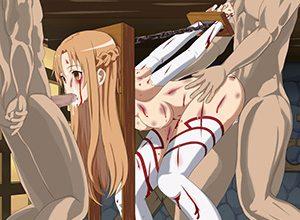 【敗北者じゃけえ】戦いに敗れ傷だらけの身体をレイプされる二次エロ画像