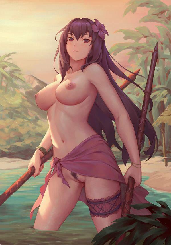【Fate/GrandOrder】スカサハ(水着)のエロ画像【8】