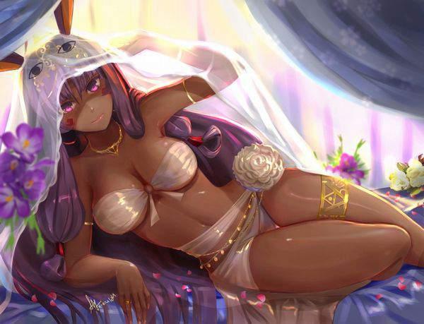 【Fate/GrandOrder】ニトクリス(水着)のエロ画像【18】