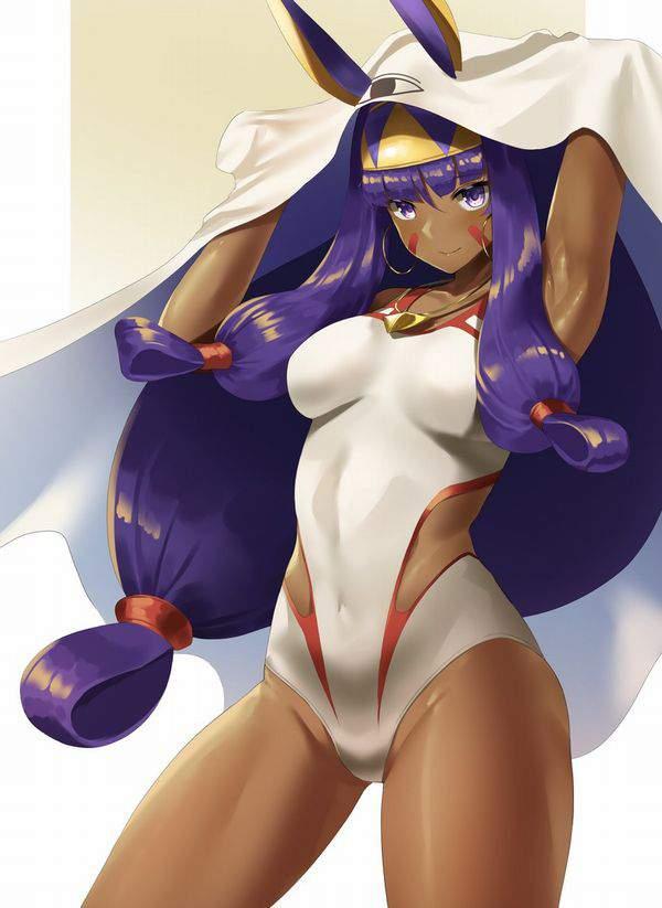 【Fate/GrandOrder】ニトクリス(水着)のエロ画像【19】