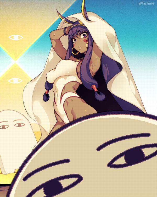 【Fate/GrandOrder】ニトクリス(水着)のエロ画像【32】