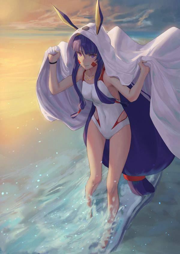 【Fate/GrandOrder】ニトクリス(水着)のエロ画像【35】