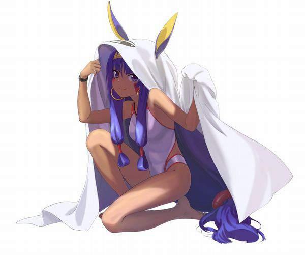 【Fate/GrandOrder】ニトクリス(水着)のエロ画像【43】