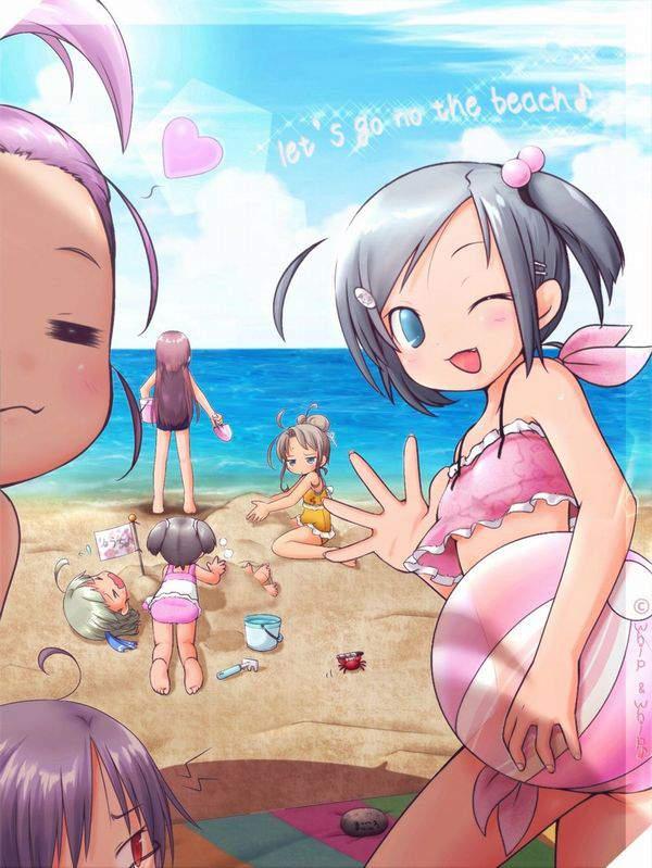 【死体遺棄じゃないよ】砂浜に生き埋めにされる女の子達の二次画像【24】