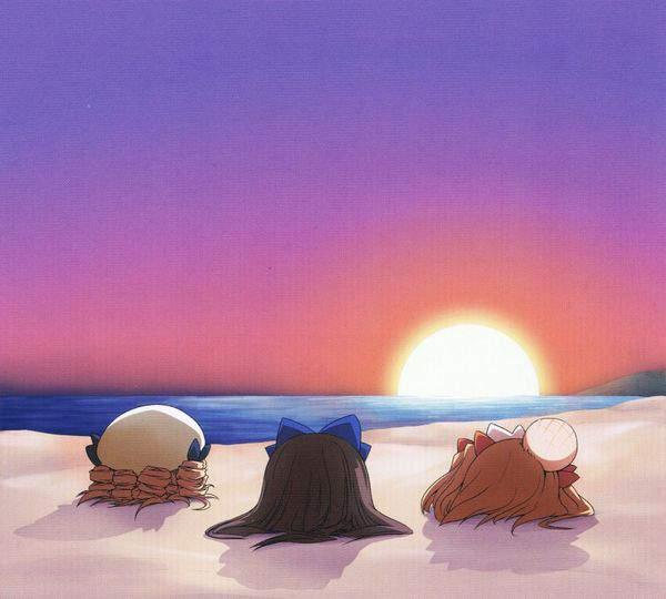 【死体遺棄じゃないよ】砂浜に生き埋めにされる女の子達の二次画像【32】