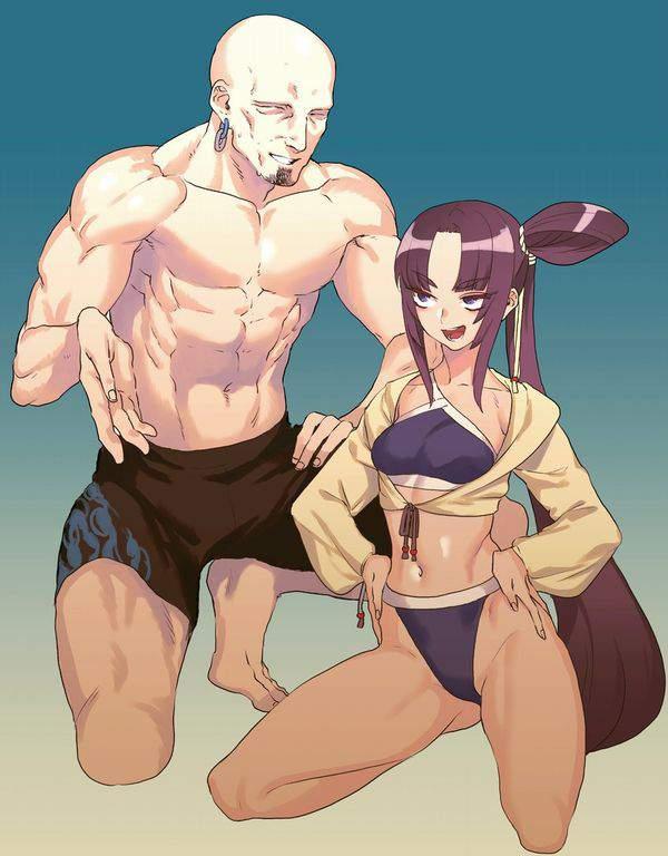 【Fate/GrandOrder】牛若丸(水着)のエロ画像【42】