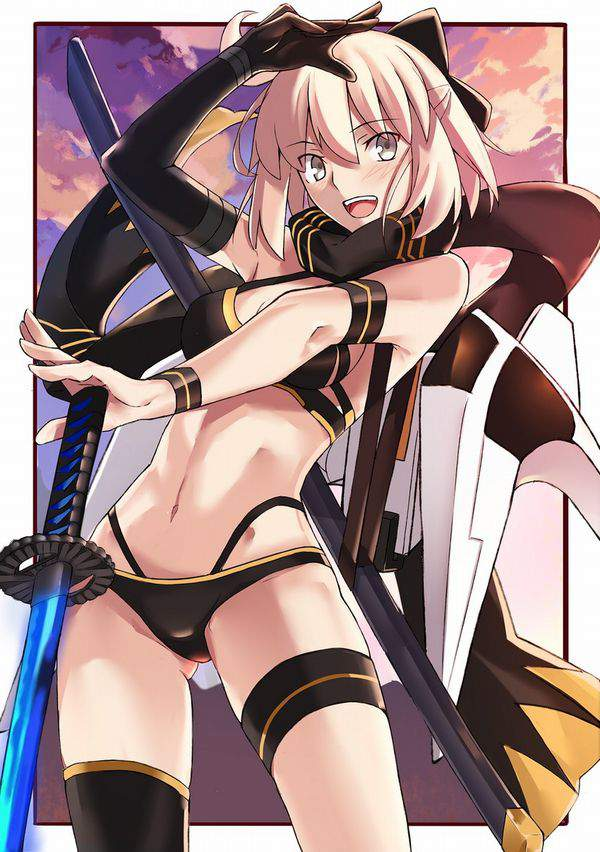 【Fate/GrandOrder】沖田総司(水着)のエロ画像【47】