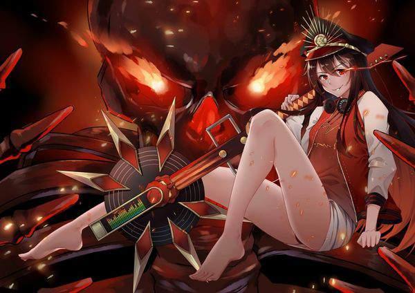 【Fate/GrandOrder】織田信長(水着)のエロ画像【14】
