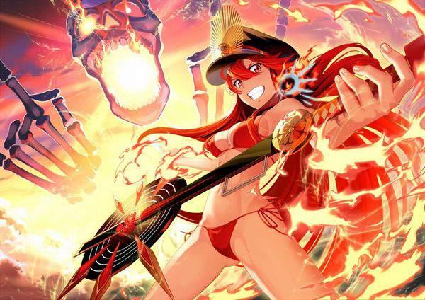 【Fate/GrandOrder】織田信長(水着)のエロ画像【35】