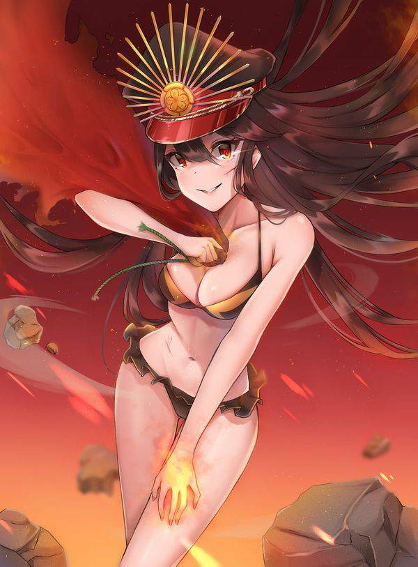 【Fate/GrandOrder】織田信長(水着)のエロ画像【47】