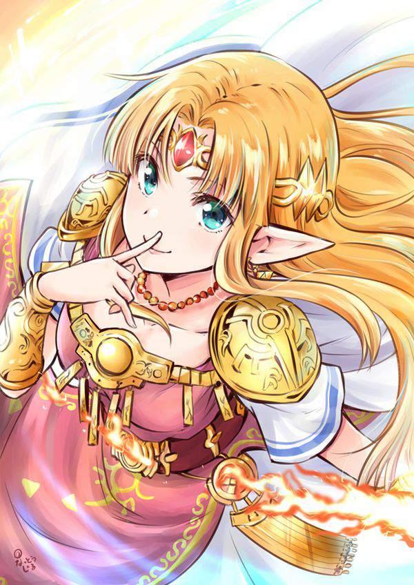 【ゼルダの伝説シリーズ】ゼルダ姫のエロ画像【2】