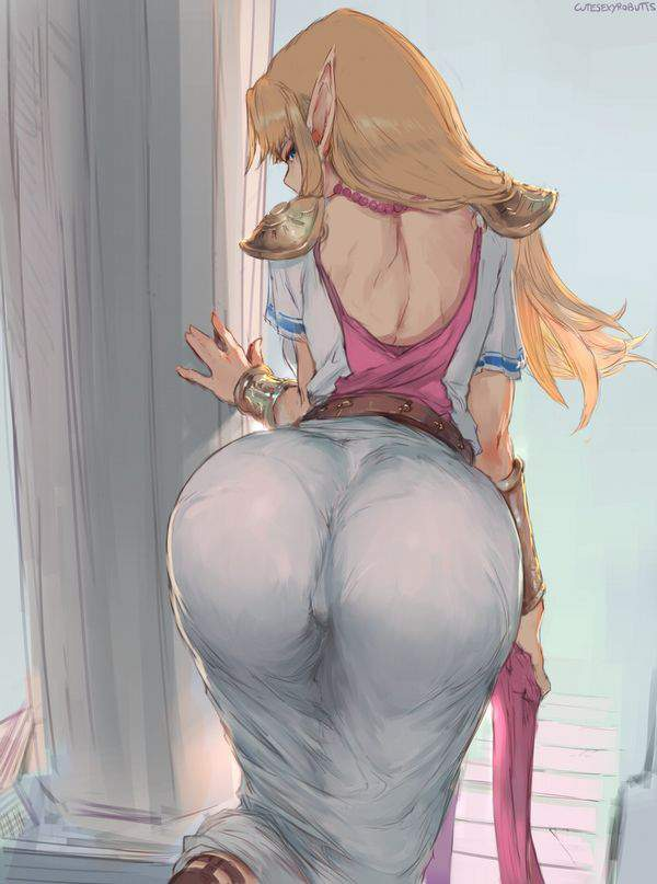 【ゼルダの伝説シリーズ】ゼルダ姫のエロ画像【10】