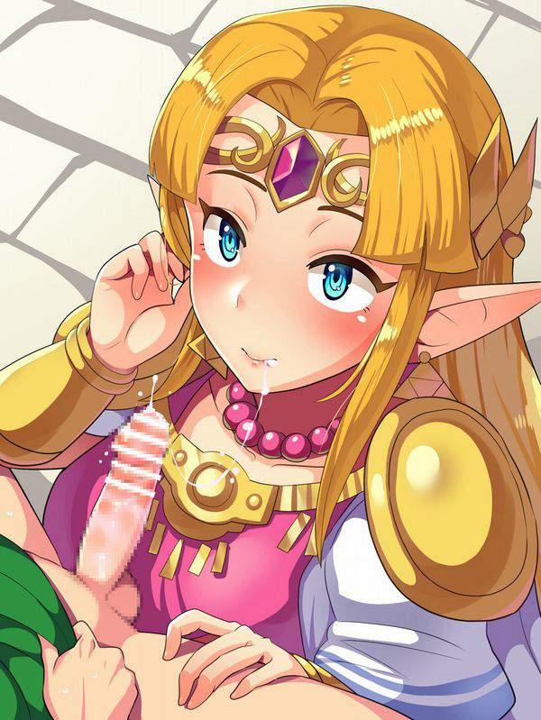 【ゼルダの伝説シリーズ】ゼルダ姫のエロ画像【16】