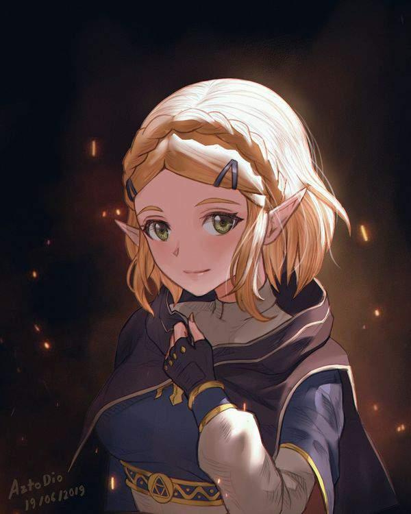 【ゼルダの伝説シリーズ】ゼルダ姫のエロ画像【28】